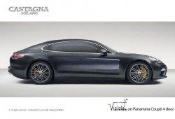 El Porsche Panamera Coupé cobra vida en los talleres de Castagna Milano