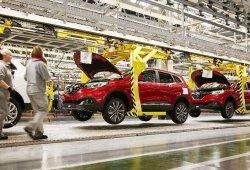 La producción de vehículos en España cae un 0,36% en marzo de 2019