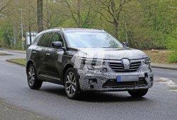 La actualización del Renault Koleos europeo muestra sus primeros rasgos