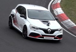 El nuevo Renault Mégane RS Trophy-R al desnudo en Nürburgring [vídeo]