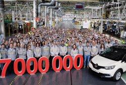 La producción de vehículos de Renault en España alcanza los 17 millones