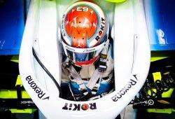 Russell reclama habitáculos con medidas estándar para la F1
