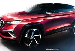 Skoda adelantará su nuevo SUV para China con el Vision GT Concept