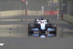 Suspendida la FP1 del GP de Azerbaiyán por una tapa de alcantarilla