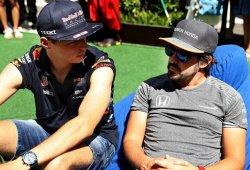 """Verstappen: """"Alonso es un luchador de verdad"""""""