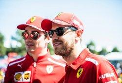 Vettel admite que Leclerc entiende mejor el Ferrari SF90