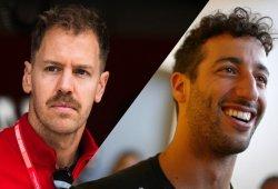 """Vettel critica el """"periodismo pobre"""" de la F1, Ricciardo lo compara con el fútbol"""