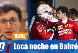 [Vídeo] Leclerc y la loca noche de Bahréin