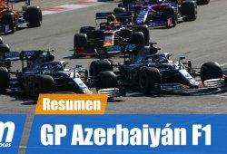 [Vídeo] Resumen del GP de Azerbaiyán de F1 2019