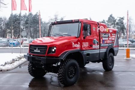 El MAZ 6440 RR pone rumbo al Dakar 2020 desde Marruecos