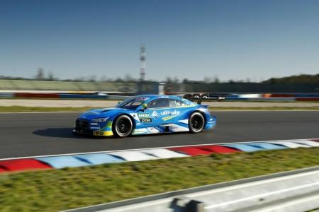 Robin Frijns lidera el test oficial del DTM en Lausitzring