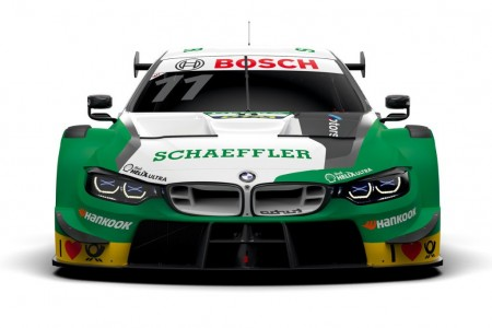 Schaeffler se asocia a BMW y 'tiñe' el M4 DTM de Wittmann