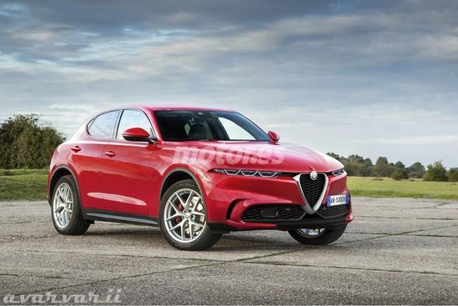 Alfa Romeo Tonale - recreación