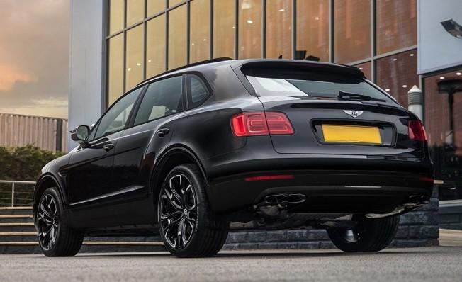 Bentley Bentayga Centenary Edition - posterior