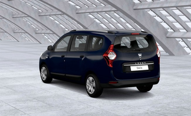Dacia Lodgy GLP - posterior
