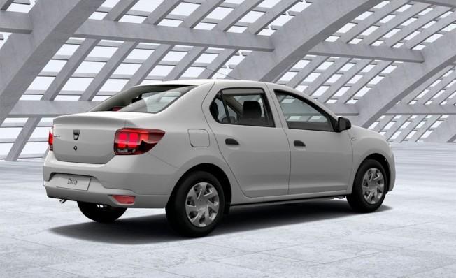 Dacia Logan GLP - posterior