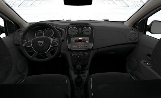 Dacia Logan GLP - interior