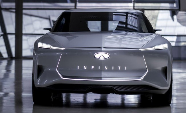 Infiniti Qs Inspiration Concept - frontal