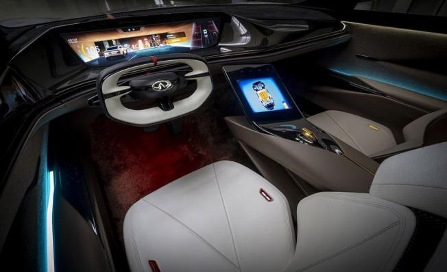 Infiniti Qs Inspiration Concept - interior