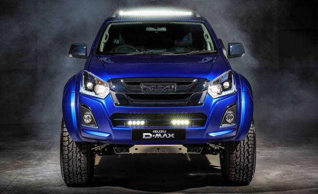 Isuzu D-Max Arctic Trucks AT35 Safir - frontal