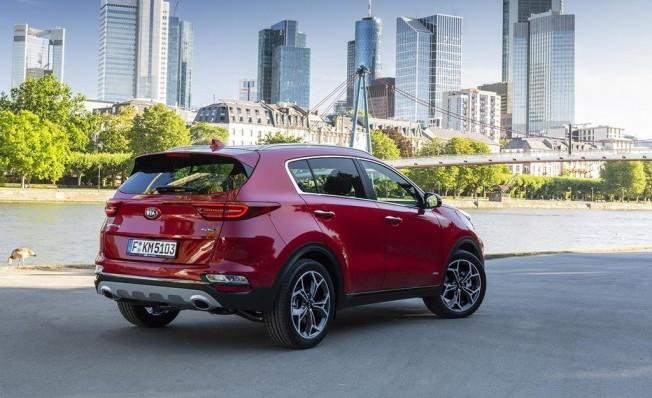 Kia Sportage 2019 - posterior