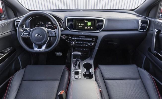 Kia Sportage 2019 - interior