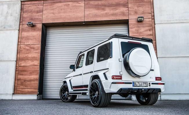 Mercedes-AMG G 63 preparado por Lumma Design