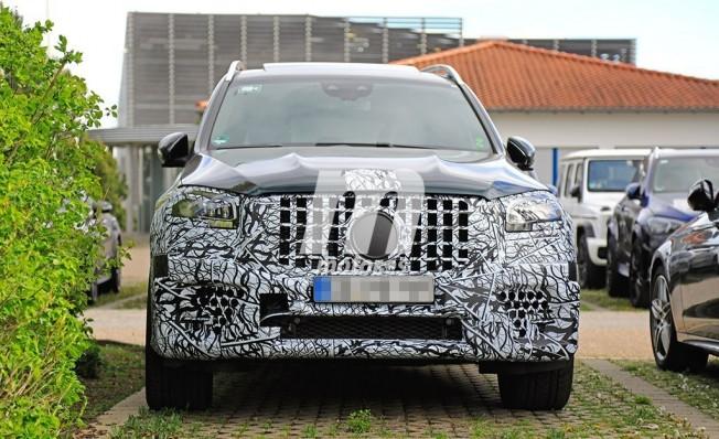 Mercedes-AMG GLS 63 2020 - foto espía frontal