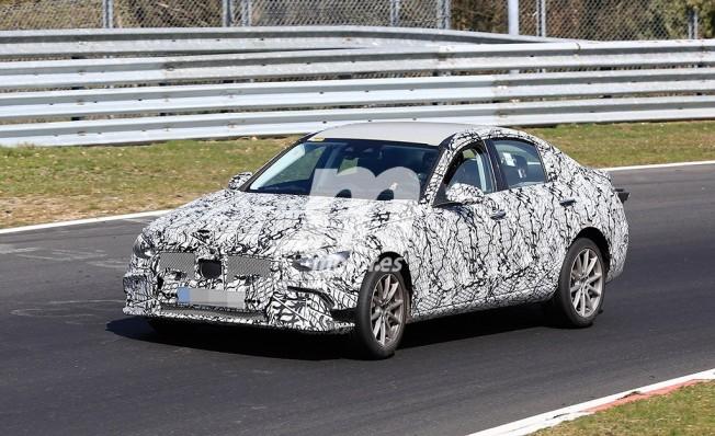 Mercedes Clase C 2021 - foto espía