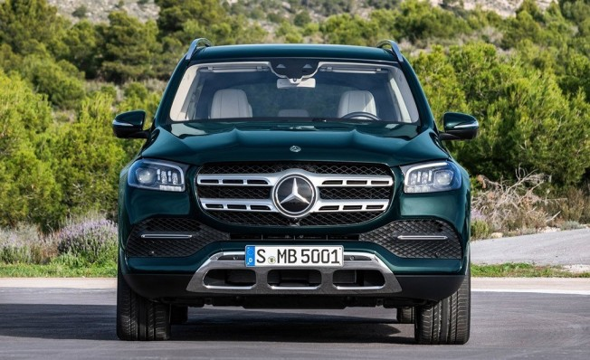 Mercedes Clase GLS 2020 - frontal