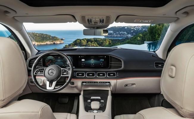 Mercedes Clase GLS 2020 - interior