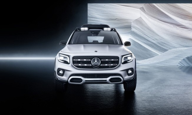 Mercedes Concept GLB - frontal