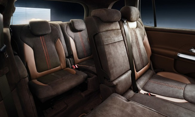 Mercedes Concept GLB - interior