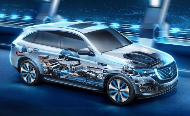 Batería del Mercedes EQC
