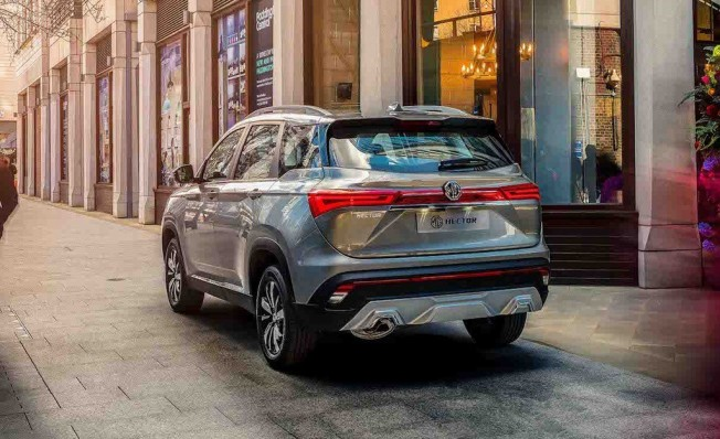 MG Hector 2019 - posterior
