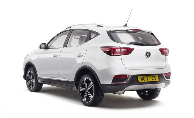 MG ZS Limited Edition - posterior
