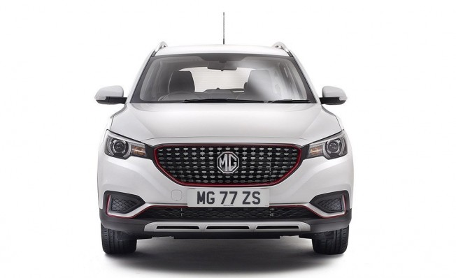 MG ZS Limited Edition - frontal