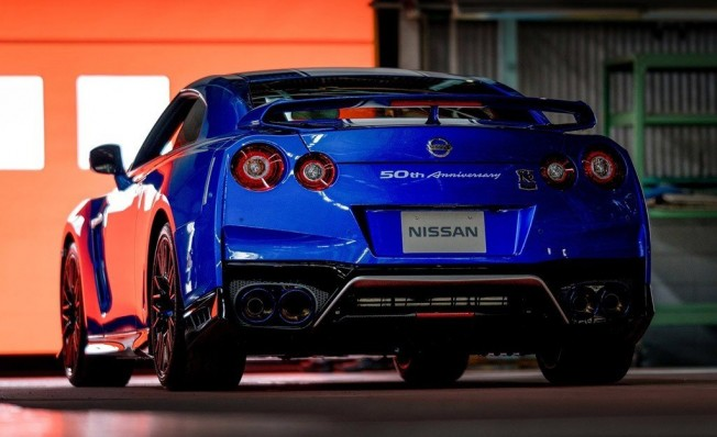 Nissan GT-R 50th Anniversary Edition - posterior
