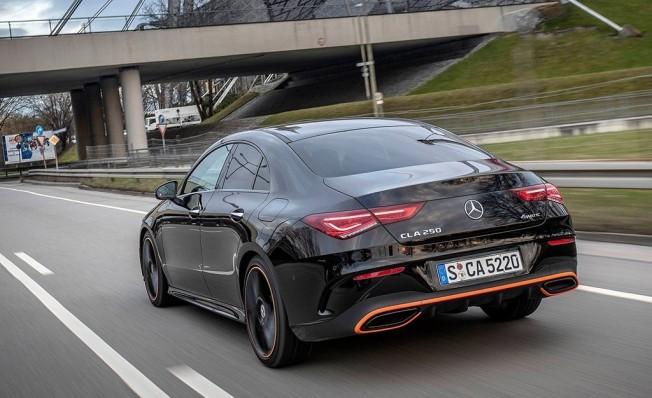 Mercedes CLA Coupé 2019 - posterior