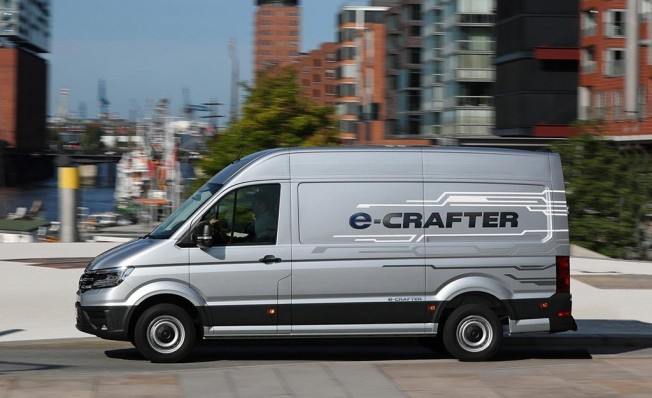 Volkswagen e-Crafter - lateral