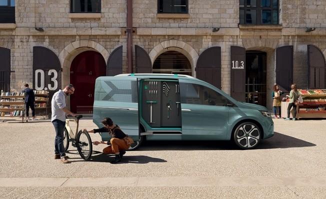 Renault Kangoo Z.E. Concept - lateral