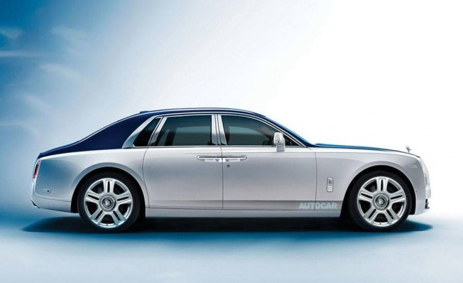 Rolls-Royce Ghost 2020 - Recreación