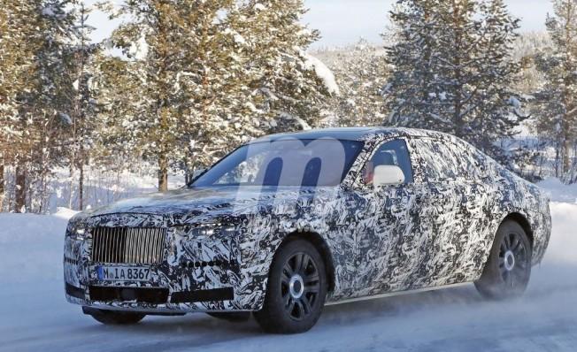 Rolls-Royce Ghost 2020 - foto espía