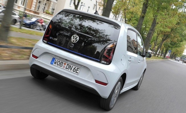 Volkswagen e-Up! - posterior