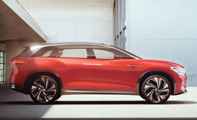 Volkswagen ID. Roomzz Concept - lateral