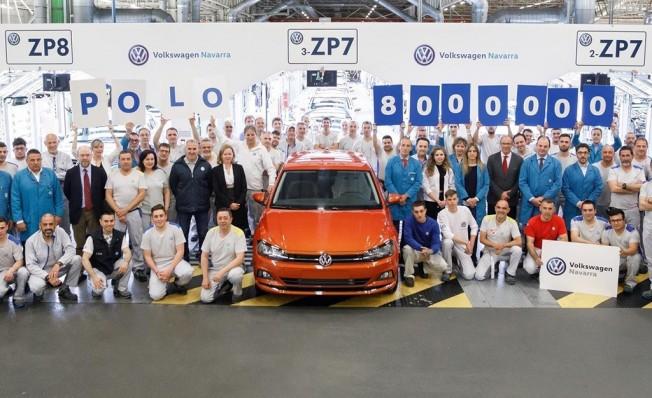 Producción del Volkswagen Polo en Navarra