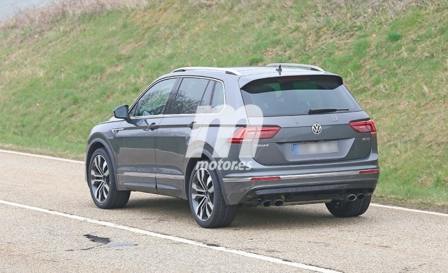 Volkswagen Tiguan R - foto espía posterior