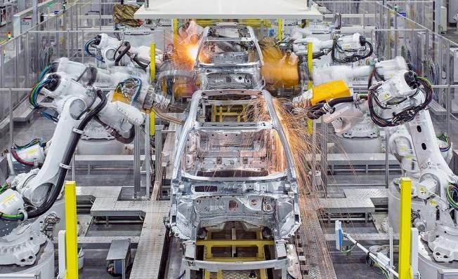 Producción del Volvo XC40 en China