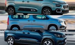 Los monovolúmenes clásicos tienen un nuevo rival, las furgonetas de PSA