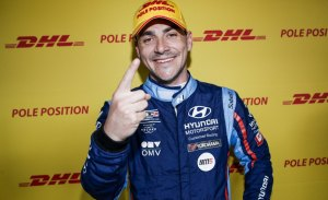 Norbert Michelisz desata la fiesta con su pole en Hungría